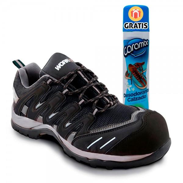 Zapatos de seguridad ligeros hombre...